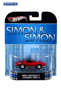 1:64 1985 Cevrolet Camaro Iroc-Z Hot Wheels X8928 Retro Entertainment (Simon & Simon)