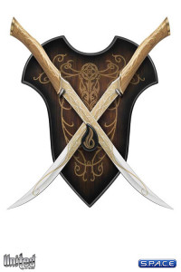 1:1 Fighting Knives of Legolas Greenleaf Life-Size Replica (The Hobbit)