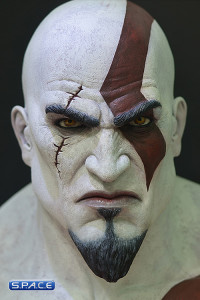 1:1 Kratos Life-Size Bust (God of War Ascension)