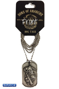 Logo Dog Tag with Ball Chain (Sons of Anarchy)