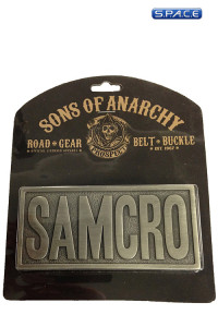 SAMCRO Belt Buckle (Sons of Anarchy)