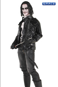 1/6 Scale Black Leather Jacket Full Set