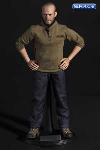 1/6 Scale Shirt & Jeans Set A (olive shirt)