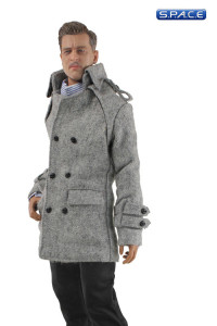 1/6 Scale Men's Trench Coat Set