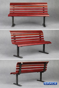 1/6 Scale Bench (red)