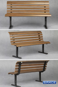 1/6 Scale Bench (brown)
