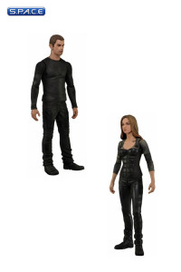 Set of 2: Tris and Four (Divergent)