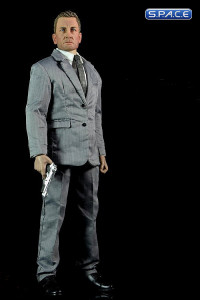 1/6 Scale Agent James with Grey Suit Set