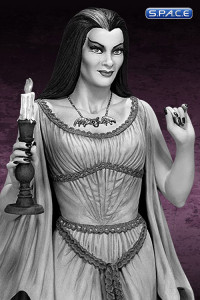 Lily Munster Maquette Black and White Edition (The Munsters)