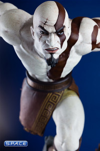 1/4 Scale Lunging Kratos Statue (God of War)