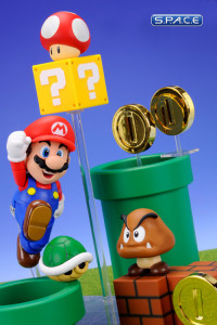 Mario with Play Sets Bundle - S.H. Figuarts (Super Mario)