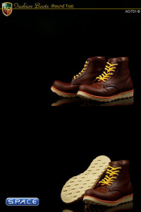 1/6 Scale Fashion Boots S3 - Dark Brown