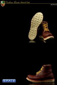 1/6 Scale Fashion Boots S3 - Dark Brown